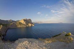Little Bay on the Crimean coast Royalty Free Stock Photos