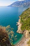 Little beach - Amalfi Coast Stock Photo