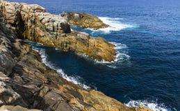 Rocky beach, Australia Stock Images