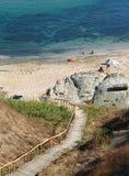 Little beach in Bulgaria Stock Photos
