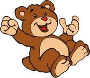 Little bear. Illustration of the little bear Stock Images