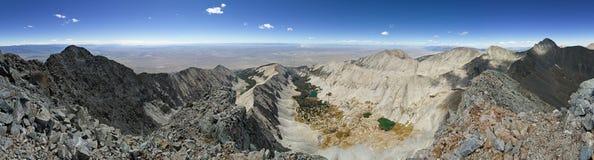 Little Bear Peak Summit Panorama Royalty Free Stock Photo