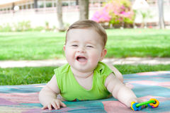 Little beautiful boy Stock Photography