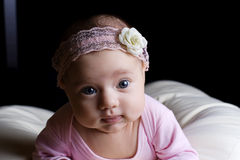 Little beautiful child baby Stock Image