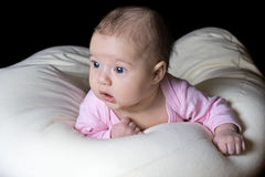 Little beautiful child baby Stock Image
