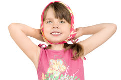 Little beautiful girl Royalty Free Stock Image