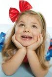 Little beautiful girl stock image