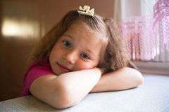 Little beautiful girl Royalty Free Stock Photography