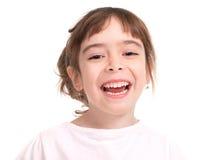 Little beautiful girl, close up Stock Photo