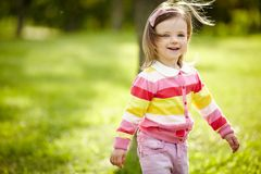 Little beautiful girl portrait Royalty Free Stock Photo