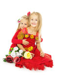 Little beautiful girls Royalty Free Stock Photography