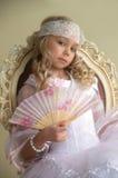 Little beautiful lady Royalty Free Stock Image