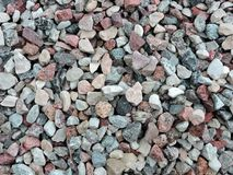 Colorful stones surface texture Stock Photo