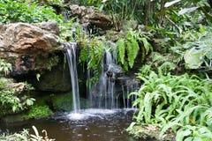 Little Beautiful Waterfall Royalty Free Stock Photos