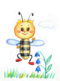 Little bee Stock Photography