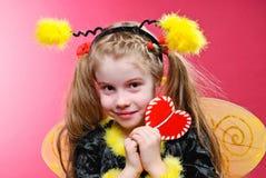 Little Bee Stock Image