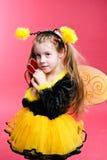 Little Bee Stock Photo
