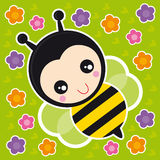 Little bee Stock Image