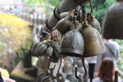 Little bell. Are the belief of Buddhists Royalty Free Stock Images