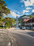 Little Big Ben in Victoria, Mahe, Seychelles Royalty Free Stock Photo