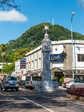 Little Big Ben, Victoria, Mahe, Seychelles Royalty Free Stock Images