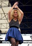 Little Big Town Performs in Concert stock photo