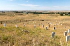 Little Bighorn Montana arkivbild