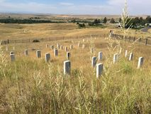 Little Bighorn Montana Stock Photo