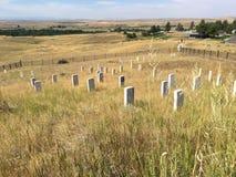 Little Bighorn Nationaal Slagveld Royalty-vrije Stock Afbeelding