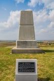Little Bighorn-Schlachtfeld-nationales Denkmal Lizenzfreies Stockfoto