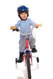Little biker. Stock Photos