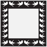 Little bird frame Royalty Free Stock Photography