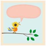Little bird. Royalty Free Stock Photos