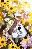 Little Birdhouse Royalty Free Stock Photos