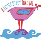 Little Birdy Royalty Free Stock Image