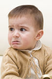 A little bit angry. Royalty Free Stock Photos