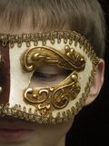 Little bit of masquerade royalty free stock photos