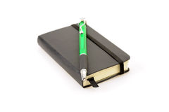 Little Black Book Stock Image