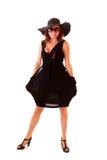 Little black dress Royalty Free Stock Photography
