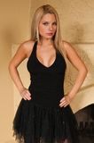 Little black dress Stock Photo