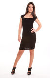 The little black dress Stock Photo