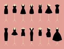Little Black Dresses Stock Photo