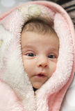 Little black eyed baby. Royalty Free Stock Photos