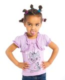 Little black girl Royalty Free Stock Image