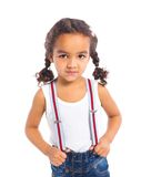 Little black girl Royalty Free Stock Photo
