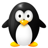 Little black pinguin Stock Images