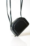 Little black purse Royalty Free Stock Photography