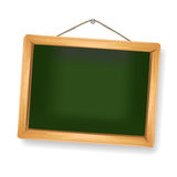 Little blackboard hanging Stock Photo