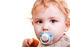 Little blond baby boy Royalty Free Stock Image