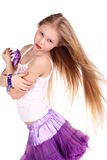 Little blond beauty Royalty Free Stock Images